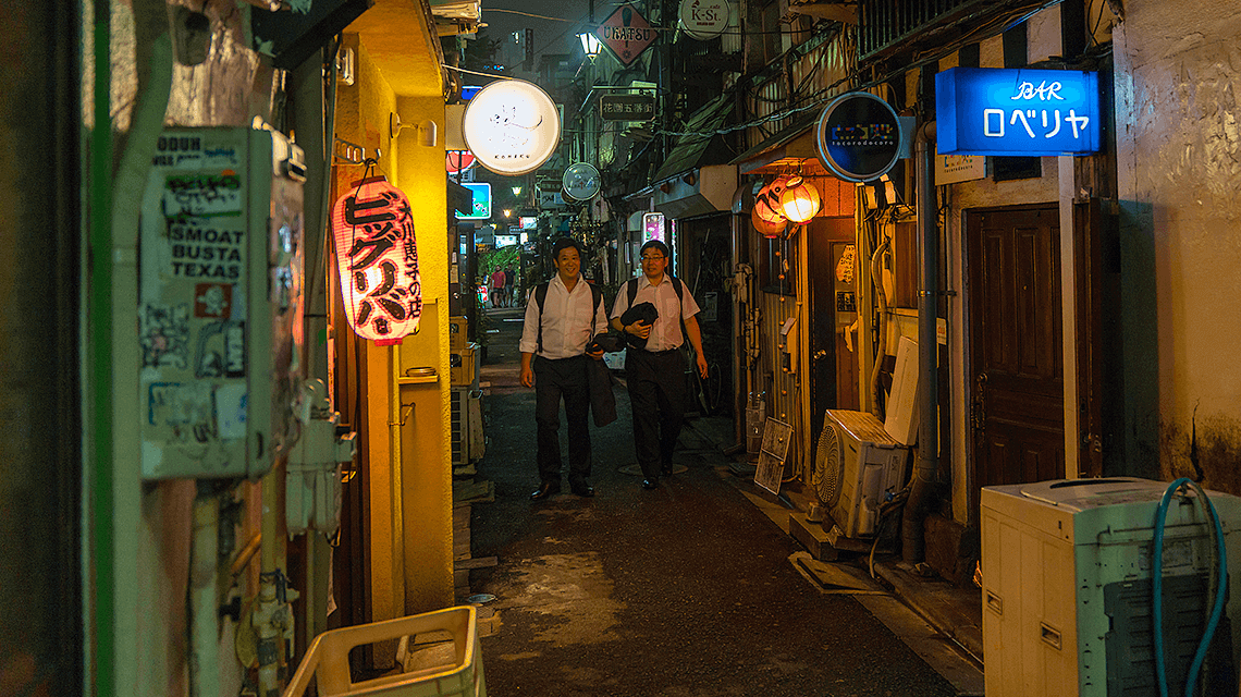 Golden Gai,新宿,东京,日本