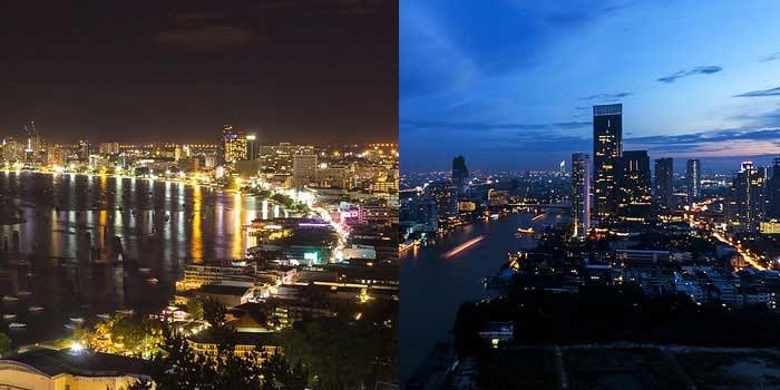 曼谷与芭堤雅 - 详细比较