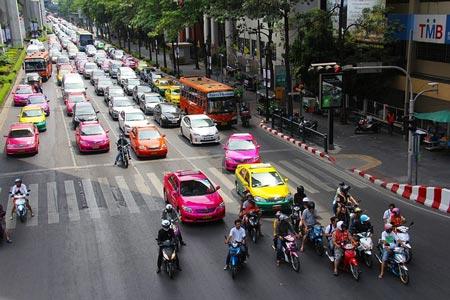 泰国的出租车司机